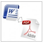 Convertir documentos PDF a Word y Word a PDF