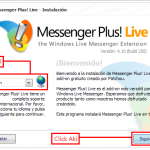 Como descargar y usar Messenger Plus! Live