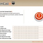 ScreenCastle: graba tu escritorio On-line