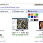 Busqueda de imagenes por color en Google