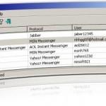 Recuperar contraseñas de MSN con MessenPass