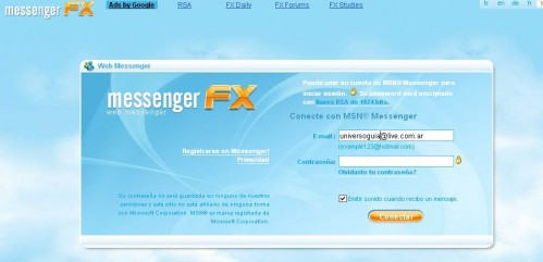 messenger fx