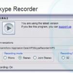 Grabar conversaciones de Skype con Mp3 Skype Recorder