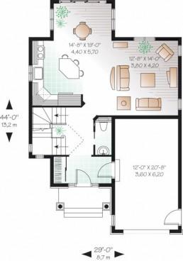 plano-planta-baja-casa-de-2-pisos-y-3-habitaciones1