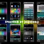 Spectrum, tema para celulares S60 5ta edicion
