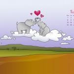 Calendario Febrero 2010