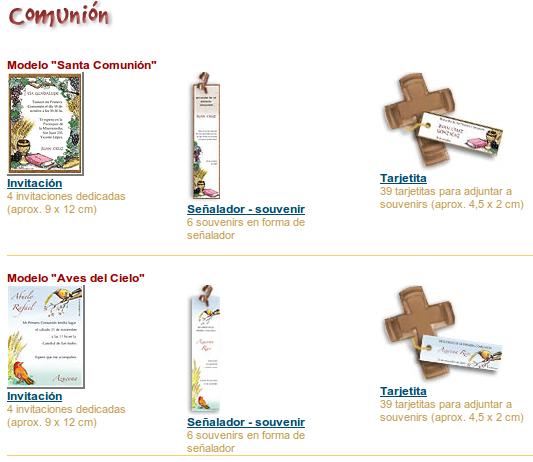 Tarjetas de la Primera Comunión para personalizar e imprimir - Imagui