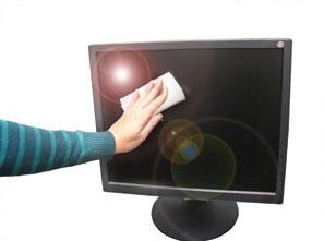 Limpiar monitor LCD