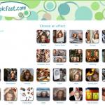 PicFast, crear fotomontajes online