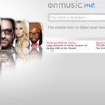 OnMusic.Me, web para escuchar musica online