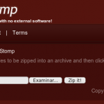 FileStomp: Comprimir archivos on-line