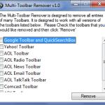 Eliminar barras molestas de busqueda en Internet Explorer