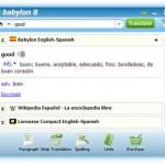 Descargar Babylon 8, traductor de idiomas