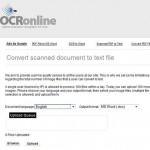 Convertir imagen a texto con OCR Online