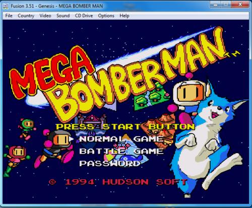 Pudes descargar Mega Bomberman desde acá