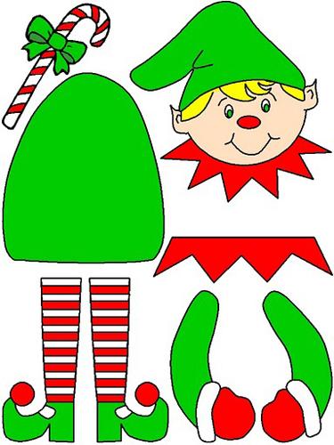 Moldes Para Manualidades De Navidad