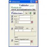 Programa para validar NIF, CIF y NIE