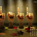 Wallpaper Calendario Enero 2011