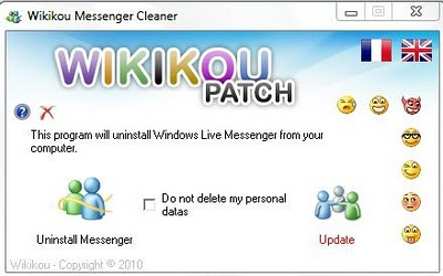 wikikou messenger cleaner 2011