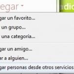 Agregar contactos de Facebook en el MSN