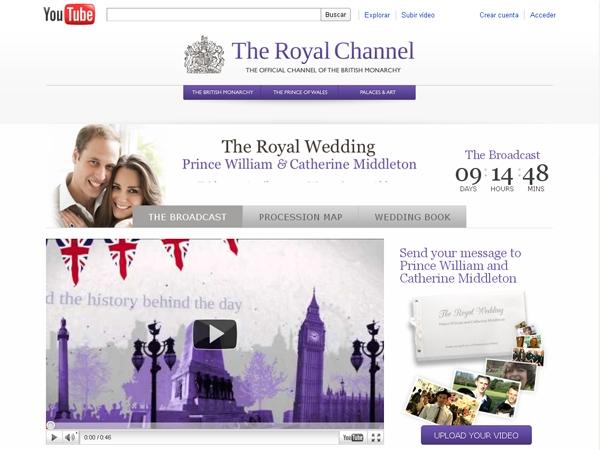 del canal oficial de la monarquia en youtube y sino por medio de ...