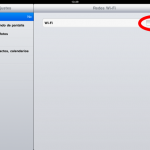 Como conectar el iPad a la red WIFI