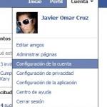 Cambiar la contraseña de Facebook
