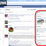 Quitar barra lateral de Facebook