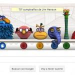 Animaciones secretas en el Google doodle Jim Henson