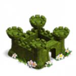 Castillo de arbustos