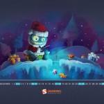 Calendario Mes Diciembre 2011