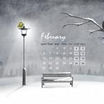 Calendario mes de febrero 2012