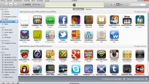 aplicaciones desde iTunes