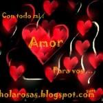 imagen de corazon con frase para facebook