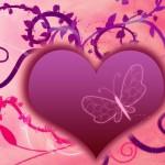imagenes de corazones y mariposa para facebook