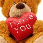 imagen de oso con corazon para facebook