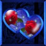 imagen de dos corazones para facebook