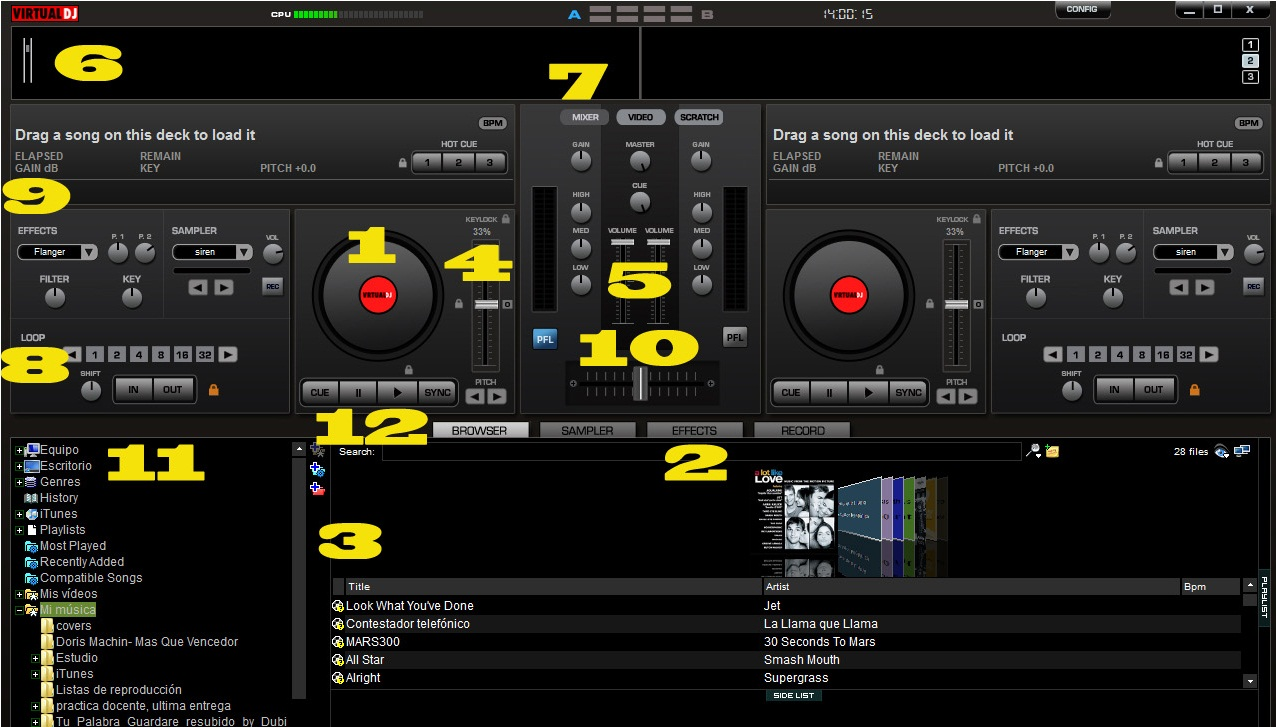 virtual dj tutorial – Universo Guia