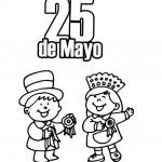 25 de mayo argentina para colorear