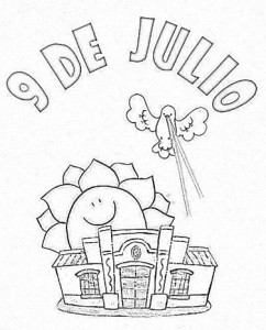 9 de julio y la casa de Tucuman