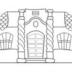 Casa de Tucuman en Blanco y Negro