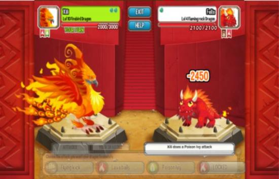 Fire Dragon Dragon City