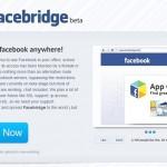 Facebridge la solución si facebook esta bloqueado