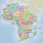 Mapa político de África para imprimir