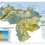 Mapas físicos y políticos de Venezuela para Descargar e imprimir