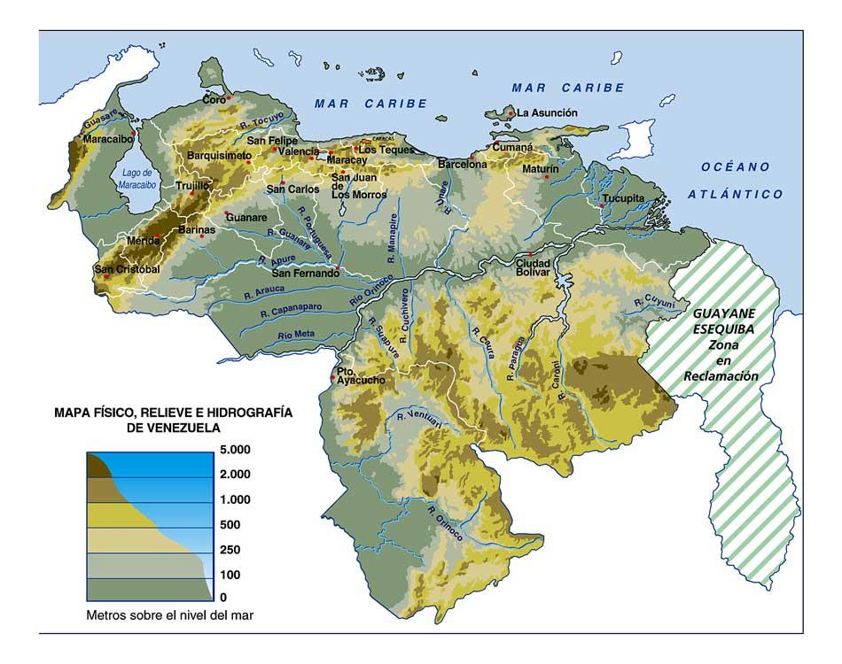 mapas venezuela mapa politico