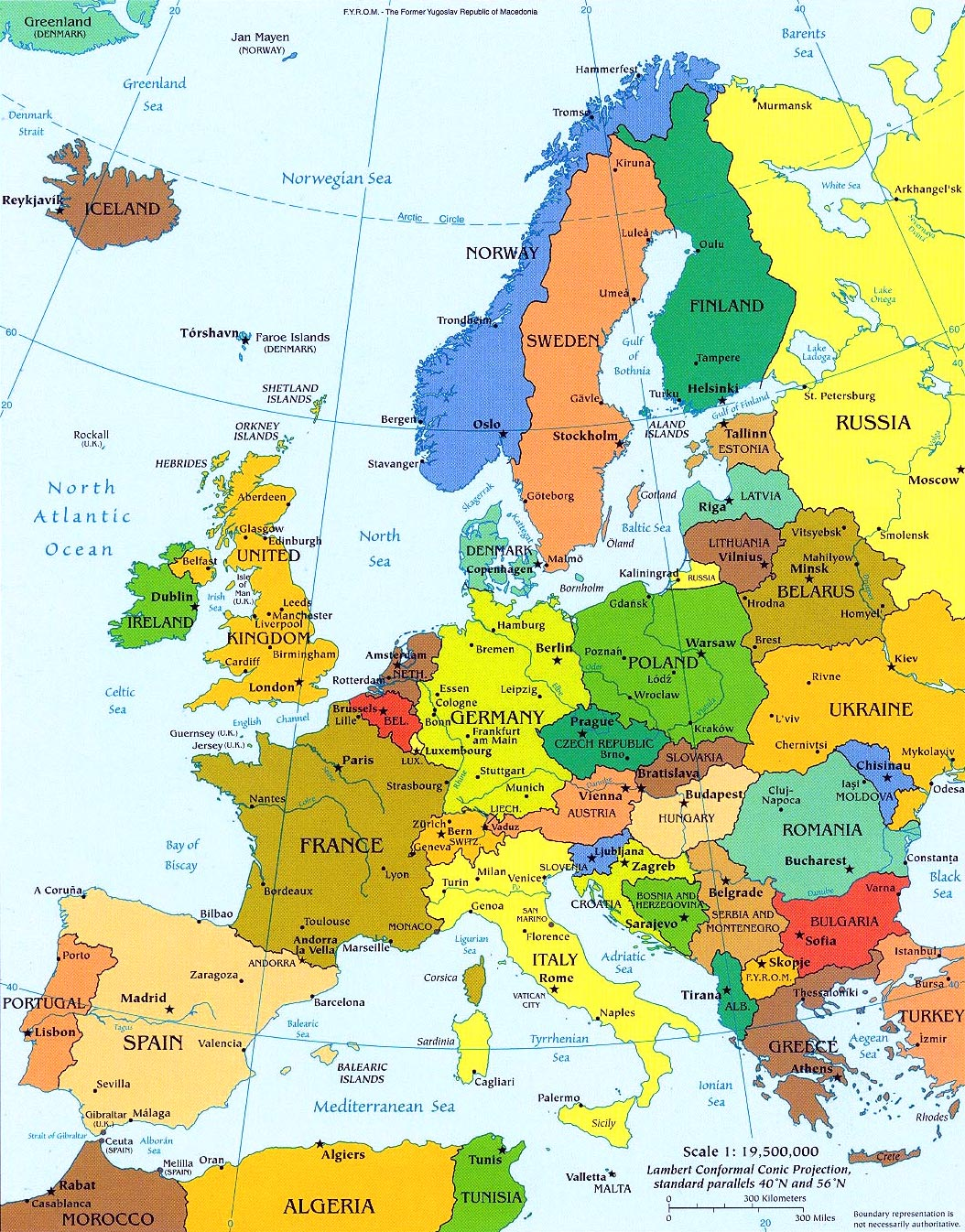 Mapas de Europa poltico fisico y mudo  Universo Guia