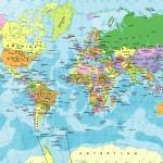Mapas Planisferios para descargar e imprimir