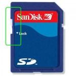 Quitar protección contra escritura en tarjeta micro SD