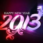 tarjeta feliz año nuevo 2013